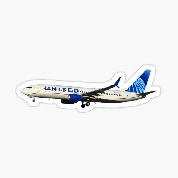 United Airlines 737-800 Sticker