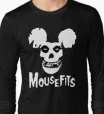 I Want Your Cheese! Mousefits Logo Long Sleeve T-Shirt