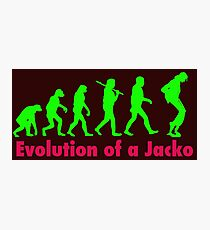 Jacko green Photographic Print