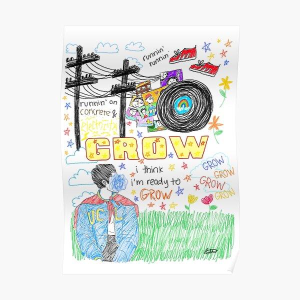 Conan Gray Grow Sketch Poster
