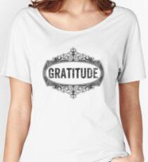 Gratitude Women's Relaxed Fit T-Shirt