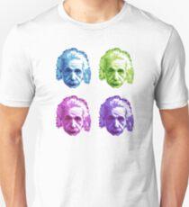 Albert Einstein - Theoretischer Physiker - Regenbogen Unisex T-Shirt