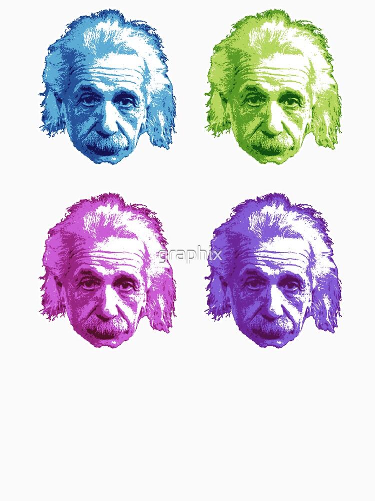 Albert Einstein - Físico teórico - Arco iris de graphix