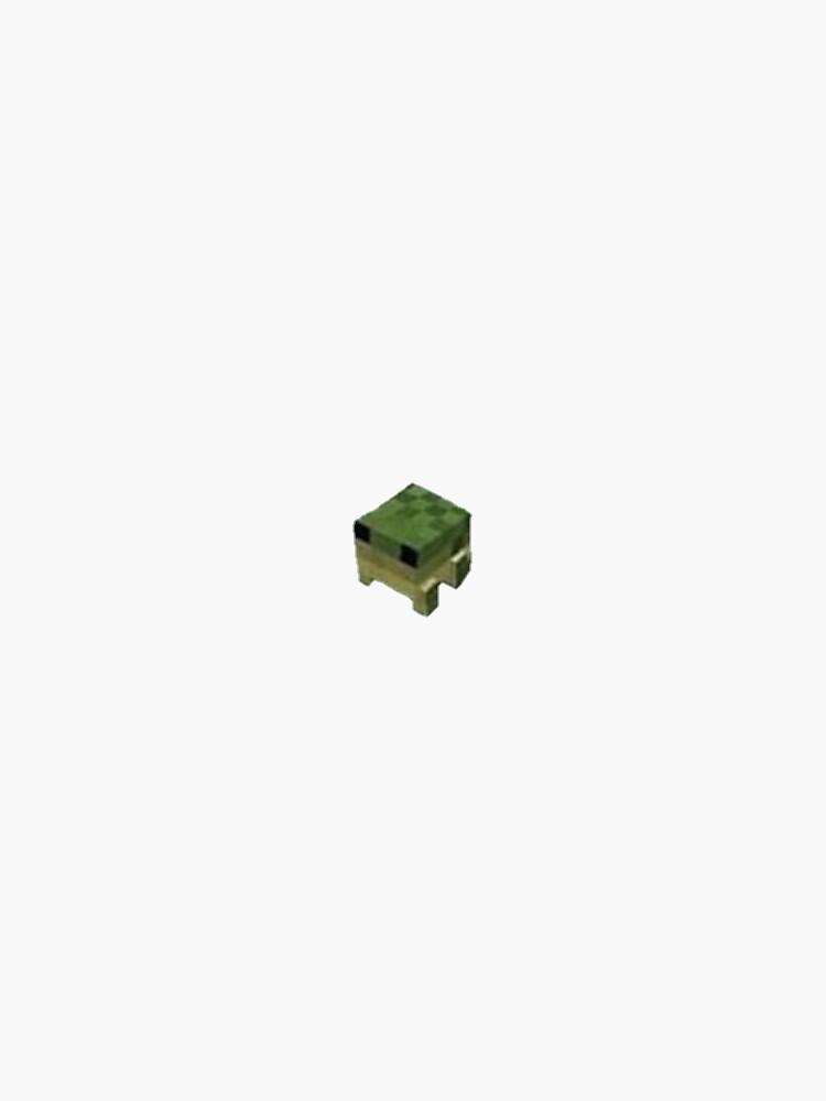 minecraft frog sticker by burymybees