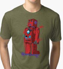 Red Robot Lilliput Splattery Shirt or iPhone Case Tri-blend T-Shirt
