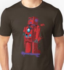 Red Robot Lilliput Splattery Shirt or iPhone Case Unisex T-Shirt