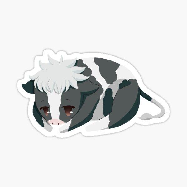 Cesta de frutas Hatsuharu Sohma Cute Ox Pegatina