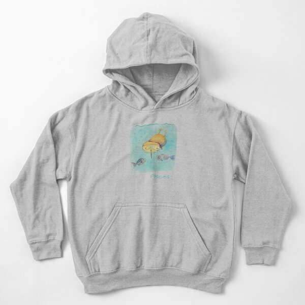 Kwii - Pisces  for kid clothes Kids Pullover Hoodie