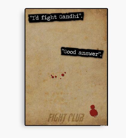 Good Answer Canvas Print