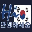 HI S.KOREA by cheeckymonkey