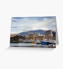 Hobart Harbour Greeting Card