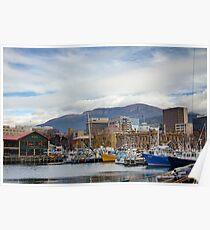 Hobart Harbour Poster
