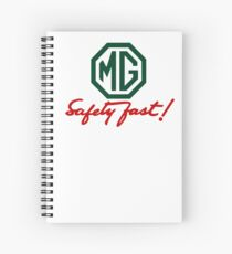 MG Safety Fast Spiral Notebook