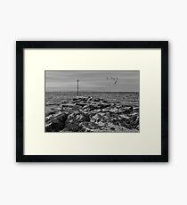 Bognor Rocks Framed Print