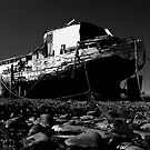 Beached ( B&W conversion) by SWEEPER