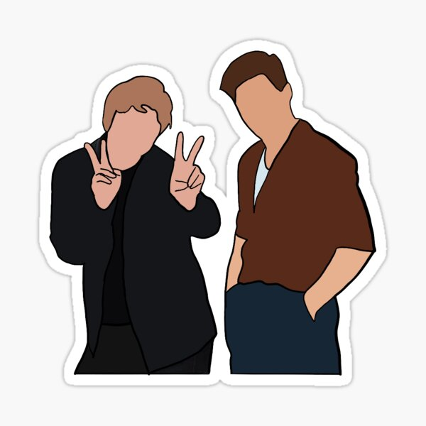 niall / lewis 2 Sticker
