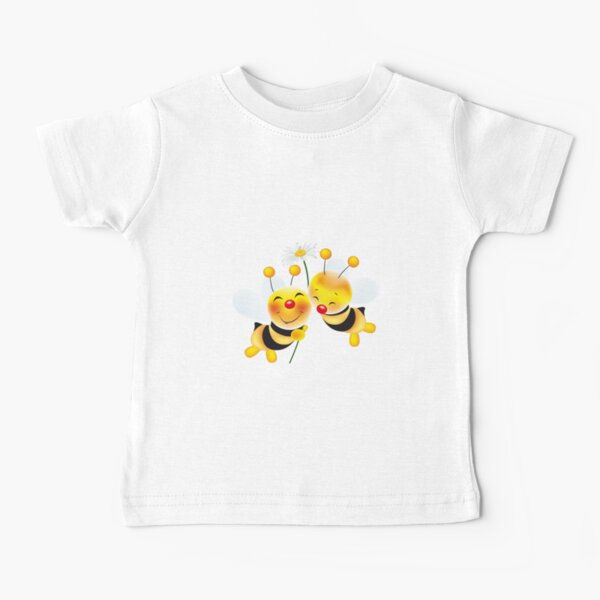 bees in love Baby T-Shirt
