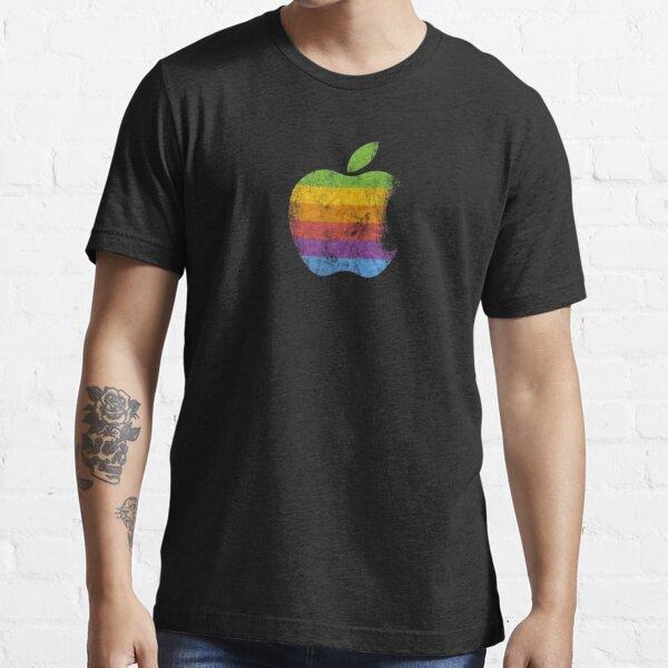 Logo retro de Apple Camiseta esencial