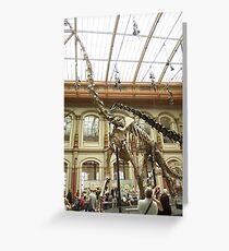 Super Brachiosaurus Greeting Card