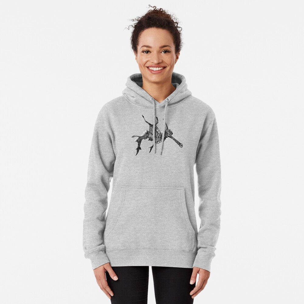 Wednesday the Weedy Sea Dragon Pullover Hoodie