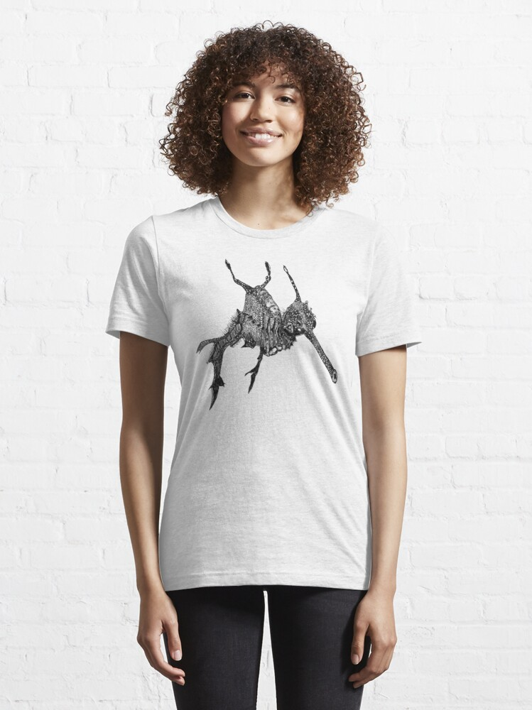 Alternate view of Wednesday the Weedy Sea Dragon Essential T-Shirt