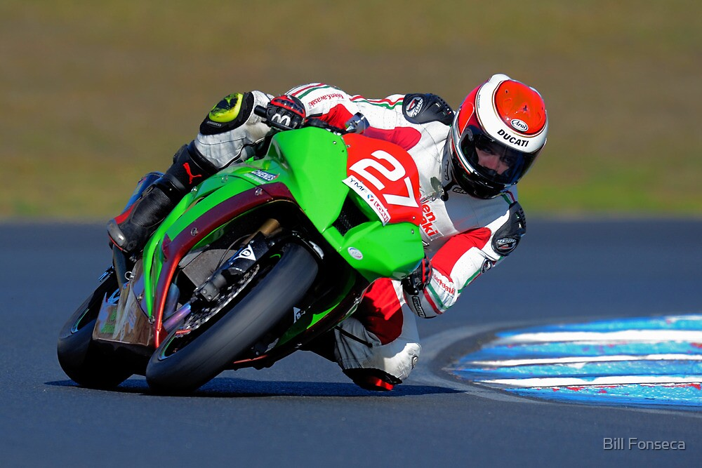 Damian Sutton #27 | FX Superbikes | Eastern Creek by Bill Fonseca