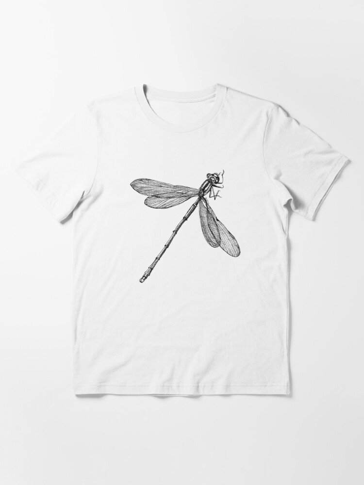 Alternate view of Eve the Dragonfly on the way up Essential T-Shirt