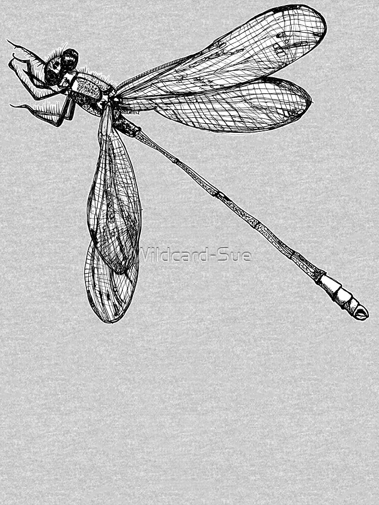 Lynette the Dragonfly  by Wildcard-Sue