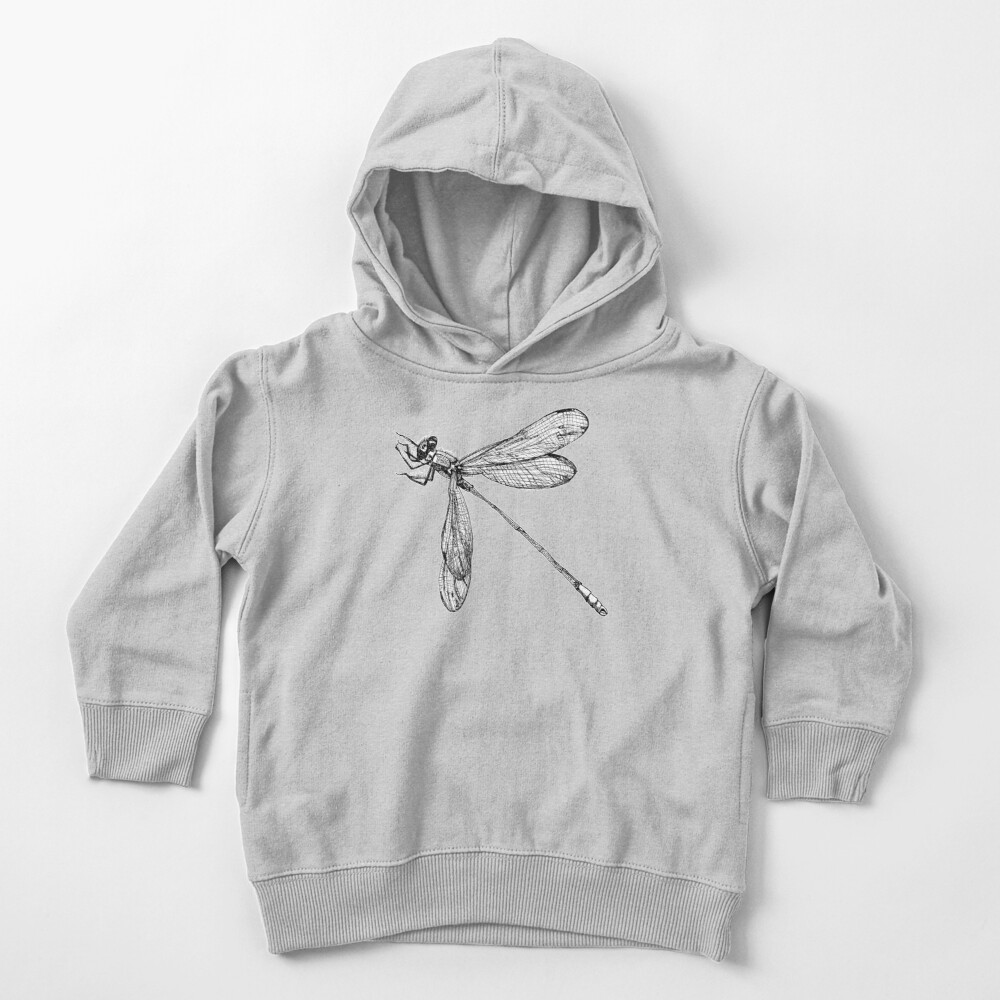 Lynette the Dragonfly  Toddler Pullover Hoodie