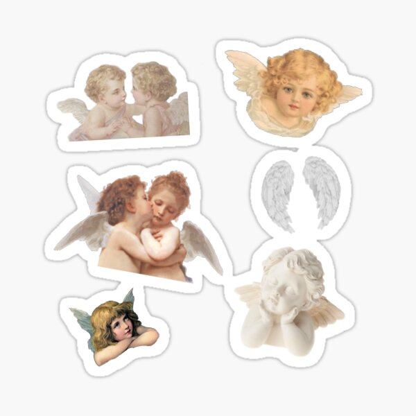 renaissance angel pack [X6] stickers Sticker