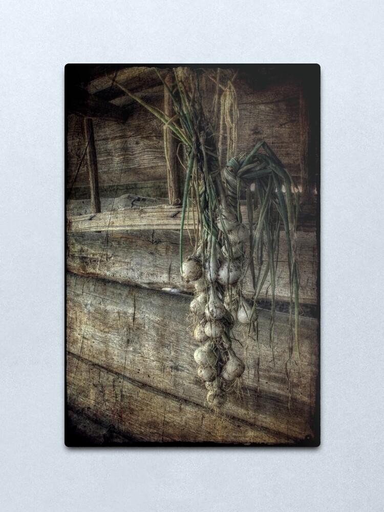 Alternate view of The Harvest Metal Print