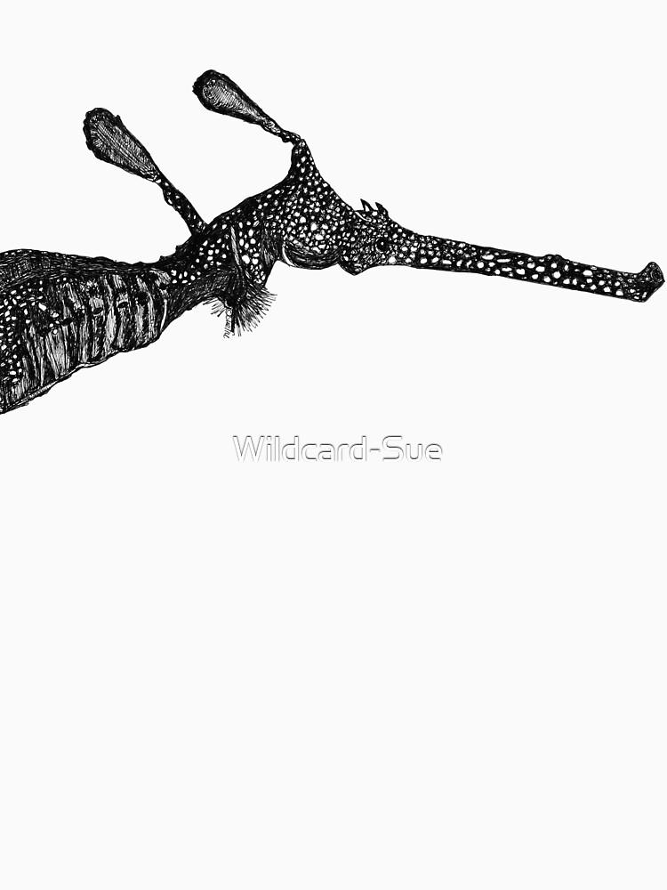 George the Weedy Sea Dragon by Wildcard-Sue