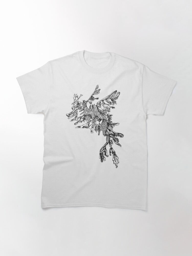Alternate view of Steve the Leafy Sea Dragon Classic T-Shirt