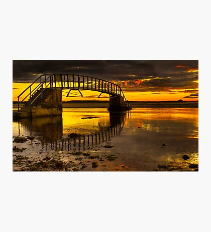 Belhaven Sunset Photographic Print