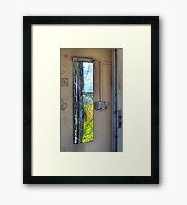 Shattered dreams - Pontin's Holiday Camp, Lytham Framed Print