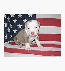 I Am Made In America Photographic Print