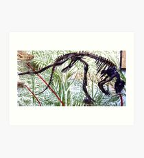 Ancient Hypsilophodon Art Print