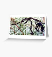 Ancient Hypsilophodon Greeting Card