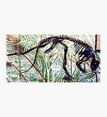 Ancient Hypsilophodon Photographic Print