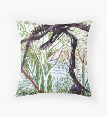 Ancient Hypsilophodon Throw Pillow