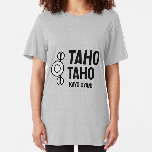 Taho Filipino Streetfood Vendor Slim Fit T-Shirt