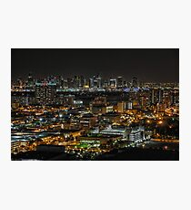 Downtown Miami From South Beach Photographic Print