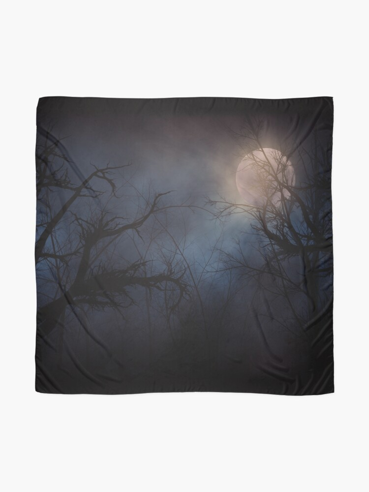 Alternate view of Haunted Forest  Scarf