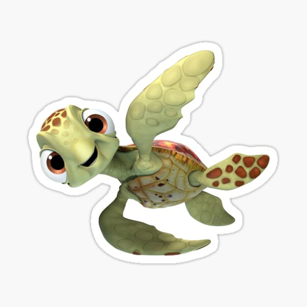 finding dory turtle Sticker