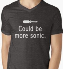 Could be more sonic - Sonic screwdriver  Men's V-Neck T-Shirt