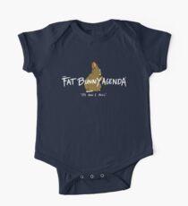 Fat Bunny Agenda- It's How I Roll Kids Clothes