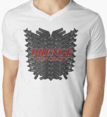 Drenge Gun Crazy Mens V-Neck T-Shirt