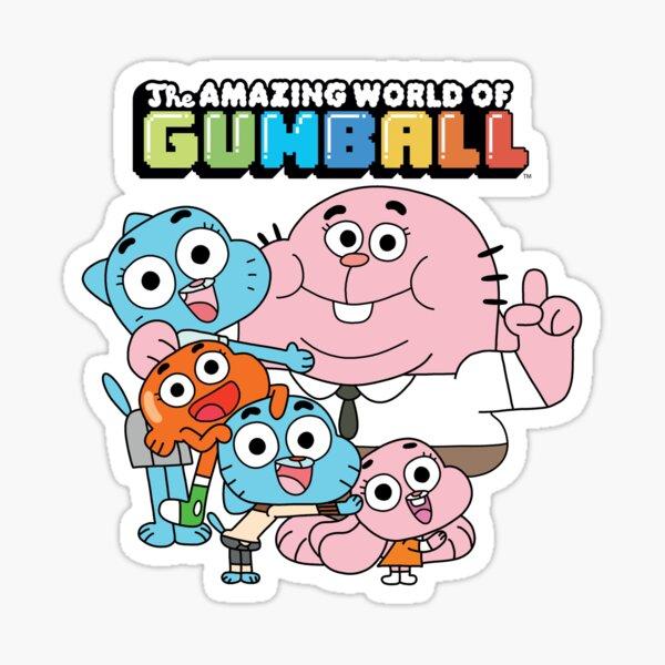 El maravilloso mundo de Gumball Pegatina