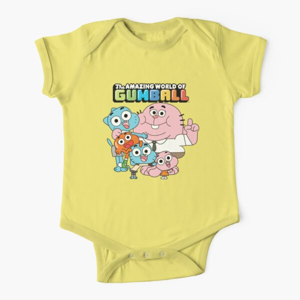 The Amazing World of Gumball Short Sleeve Baby One-Piece