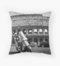 Roma Holiday Throw Pillow